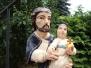 Renowacja figury św. Józefa