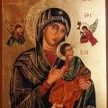 Matka Boża Nieustającej Pomocy. 40x30 cm. Maj 2019.