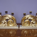 Świeczniki ze starych ornamentów