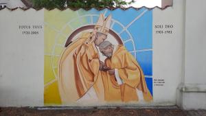 Mural Homagium. Sierpień 2021.