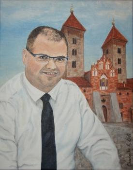Burmistrz Czerwińska. Styczeń 2020.
