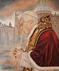 Benedykt XVI. Luty 2018.