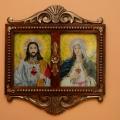 Jezus i Maryja z otwartym sercem. Listopad 2012.