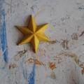 Plastelinowy model gwiazdki