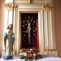 Po renowacji, na miejscu w kościele