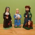 św. Rita, św. Agnieszka i św. Roch