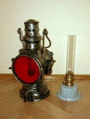 Lampy kolejowe PKP