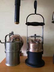Lampy górnicze po renowacji